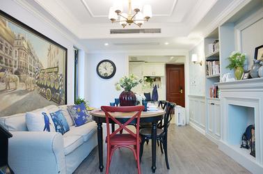 美式田园  绿城玉兰公寓  小户型  91平米
