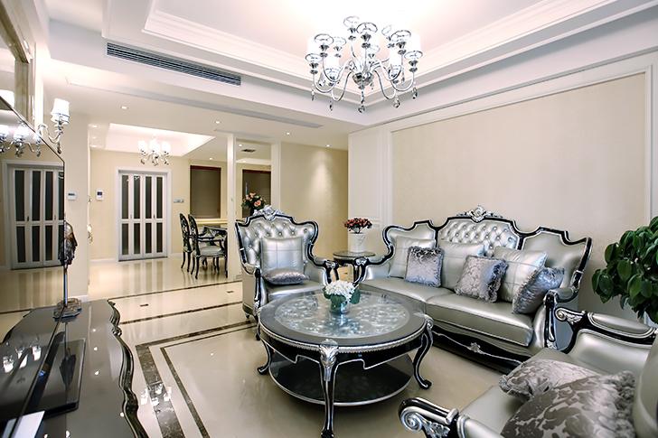 简欧风格 尚海城 三室两厅 155平米