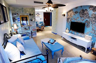 地中海  绿城玉兰公寓   两室两厅    90平米