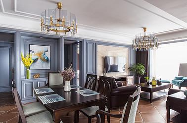 美式风格 凤凰府邸  三室两厅 180平米