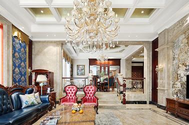 欧式风格  海安名城花苑   550平米别墅装修设计