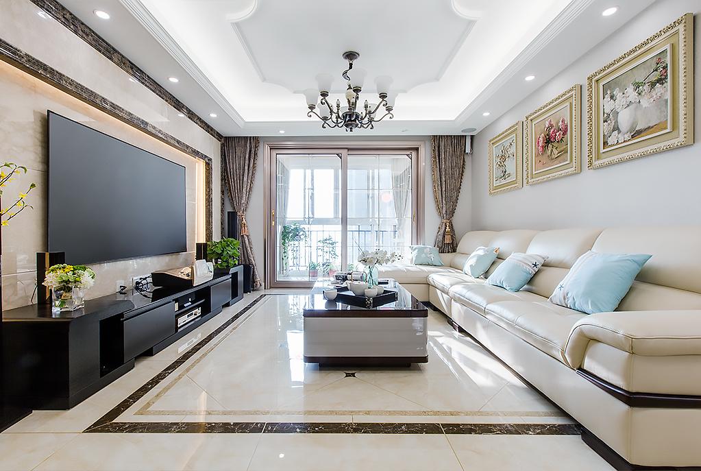现代简约  中海碧林湾   三室两厅  125平米