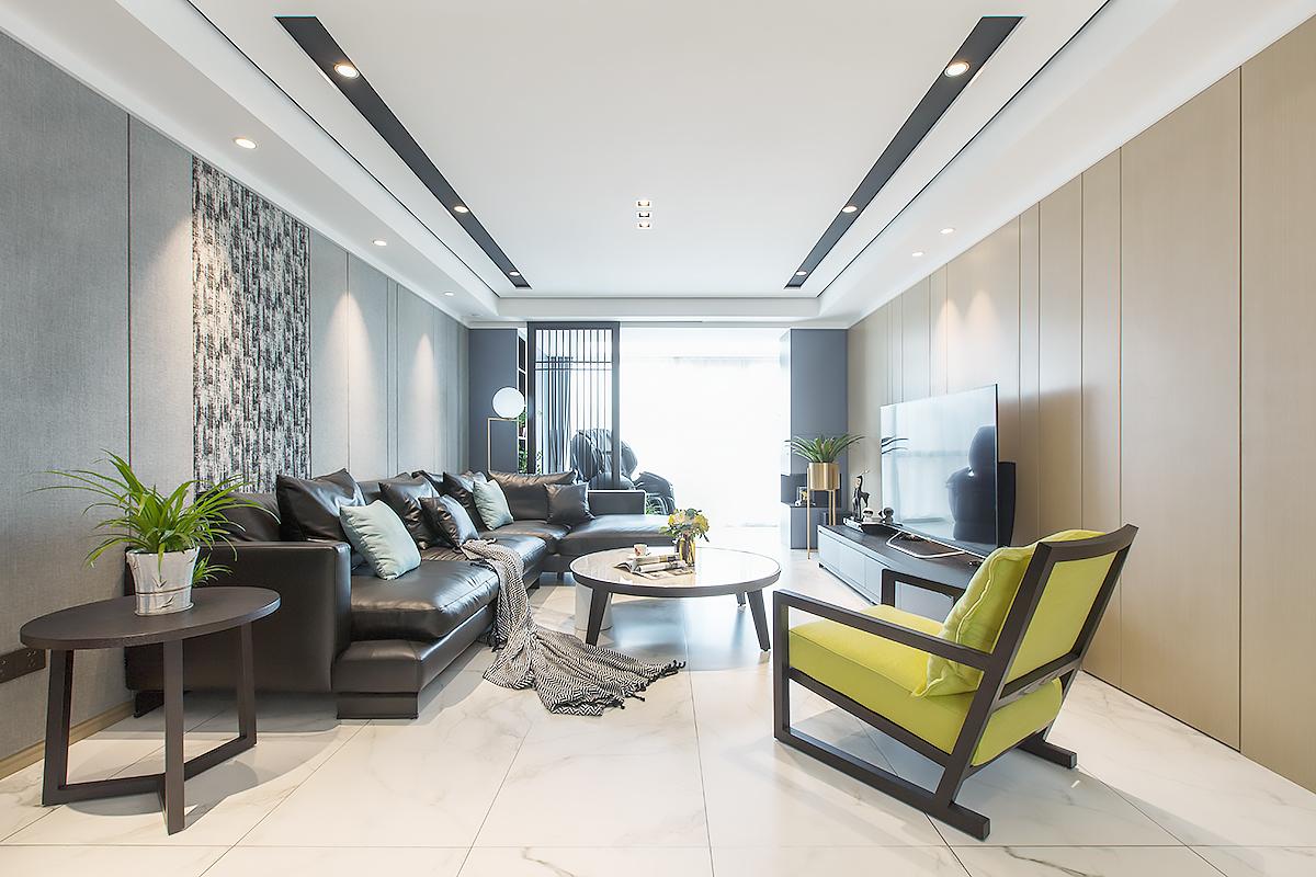 现代简约 万濠世家 三室两厅 144平米