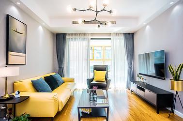 现代简约  恒盛豪庭  两室两厅  90平米