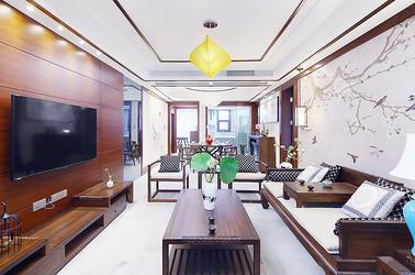 新中式 东港国际 三室两厅 140平米