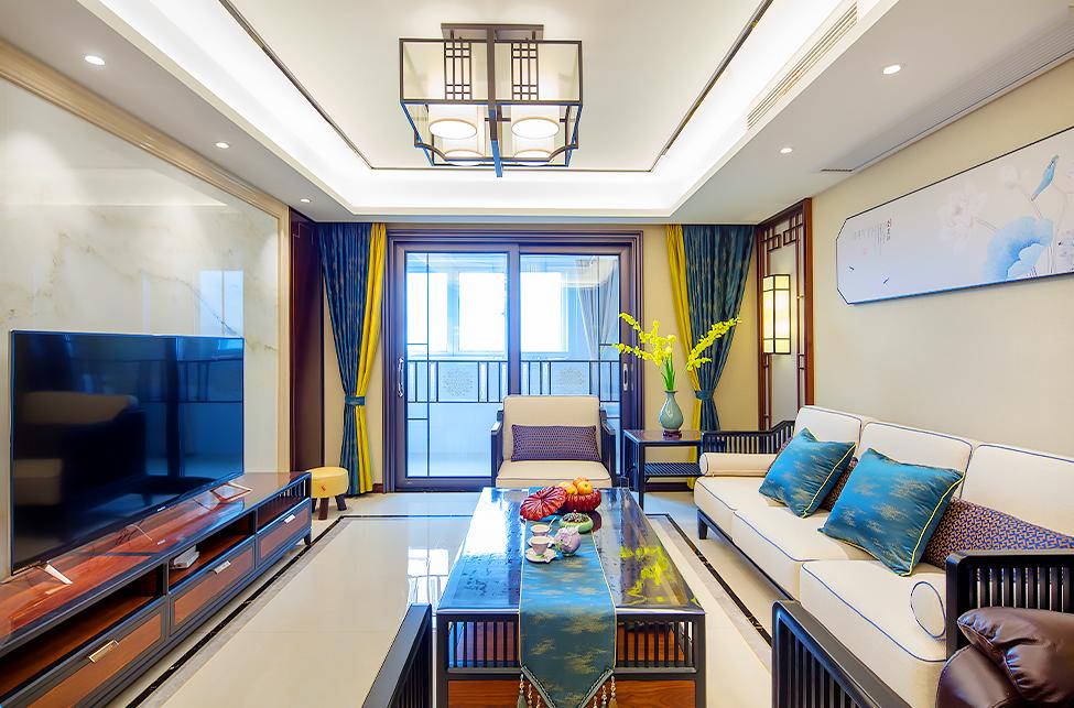 新中式 新城新苑 三室两厅 125平米