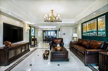美式风格 苏建名都城 四室两厅 210平米