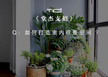 堂杰支招-如何打造室内观景空间/湖城艺境-南京