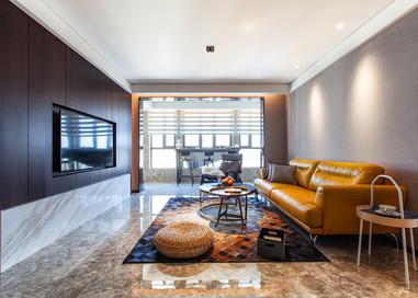 华新御园—130平—现代简约风格实景案例