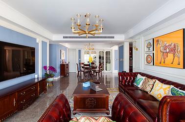 美式风格 海安书香园 四室两厅 185平米