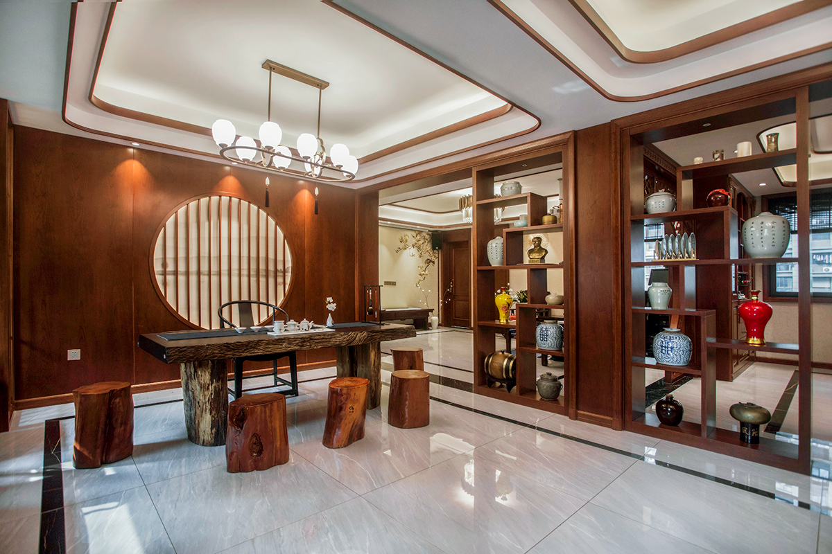 紫东南苑—240平—新中式风格实景案例