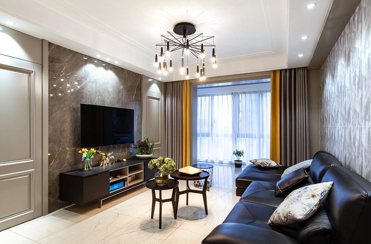 现代简约  紫东南苑   三室两厅  135平米