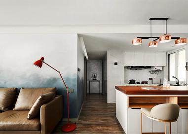 星光域—96平—台式现代风格实景图