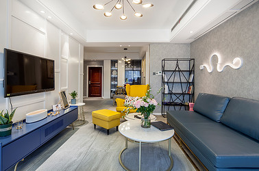 现代简约  苏建学府雅居   两室两厅  95平米