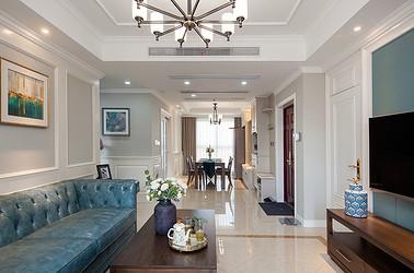 美式风格 中南世纪城 四室两厅 144平米