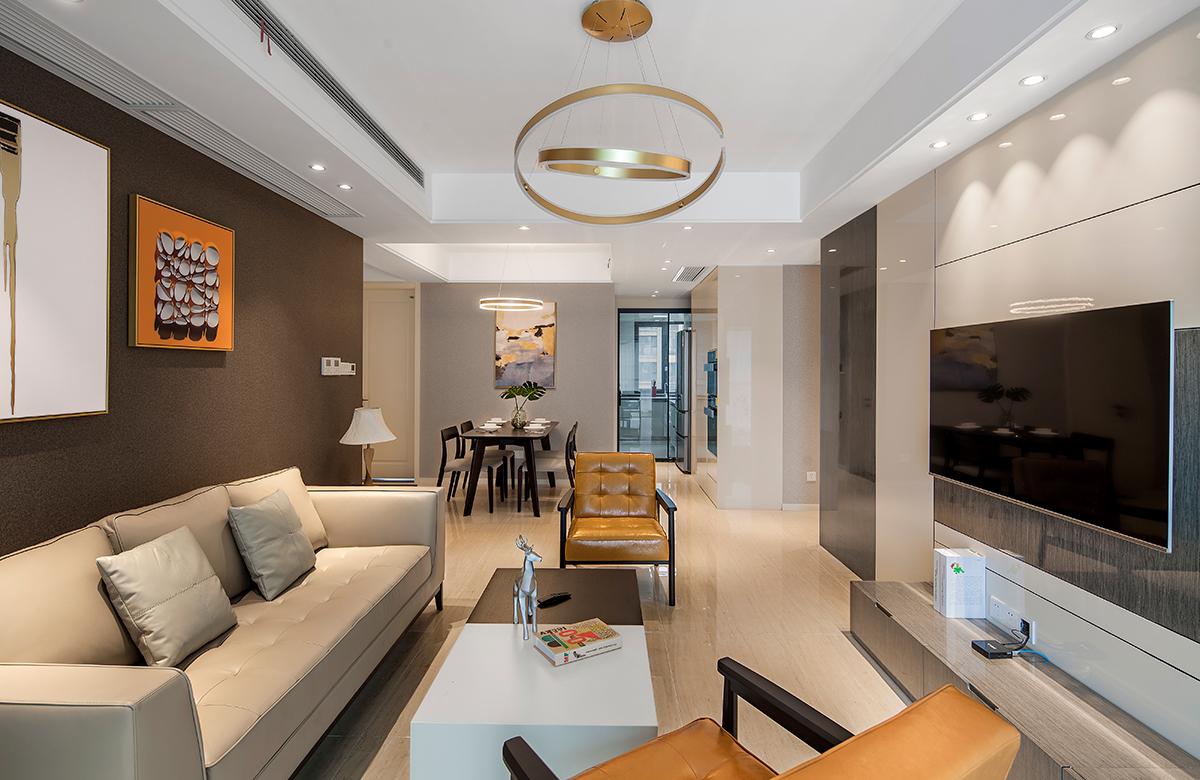 现代简约  苏建学府雅居   三室两厅  110平米