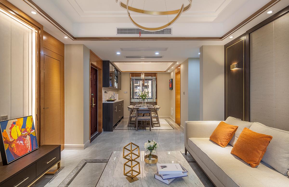 现代简约  中南世纪花城   三室两厅  130平米