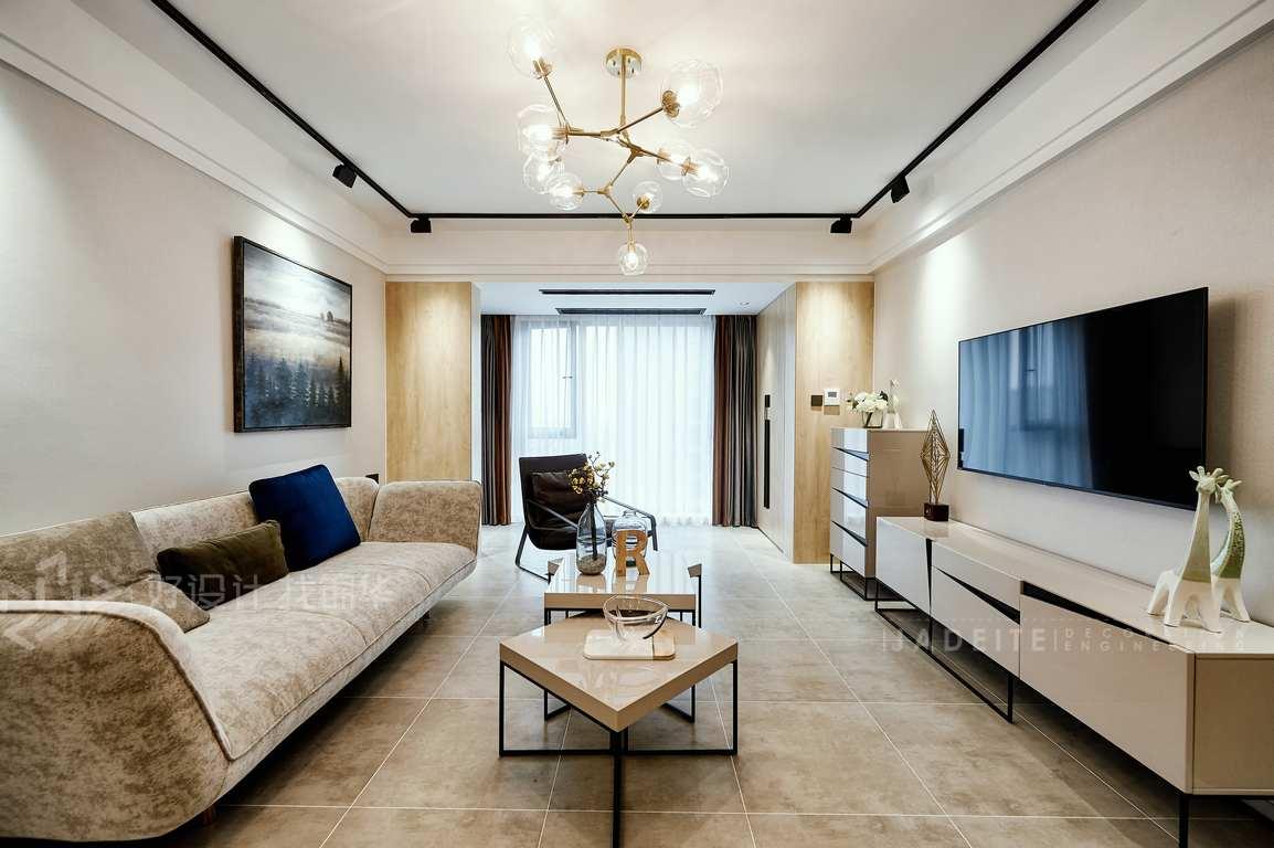 现代简约 优山美地 三室两厅 130平米