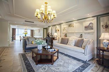 美式风格 新城小区 四室两厅 180平米