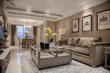 美式风格 华强城 三室两厅 135平米