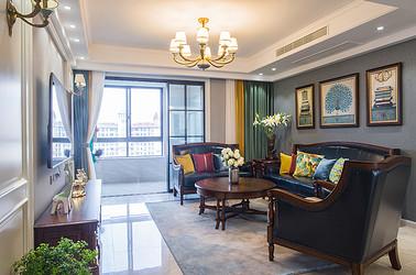 美式风格 棕榈湾 三室两厅 165平米