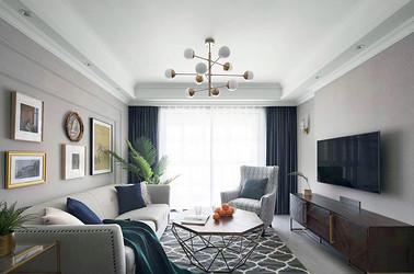 美式风格 优山美地名邸 三室两厅 130平米