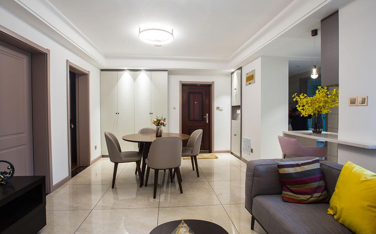 现代简约  紫东南苑   两室两厅  80平米