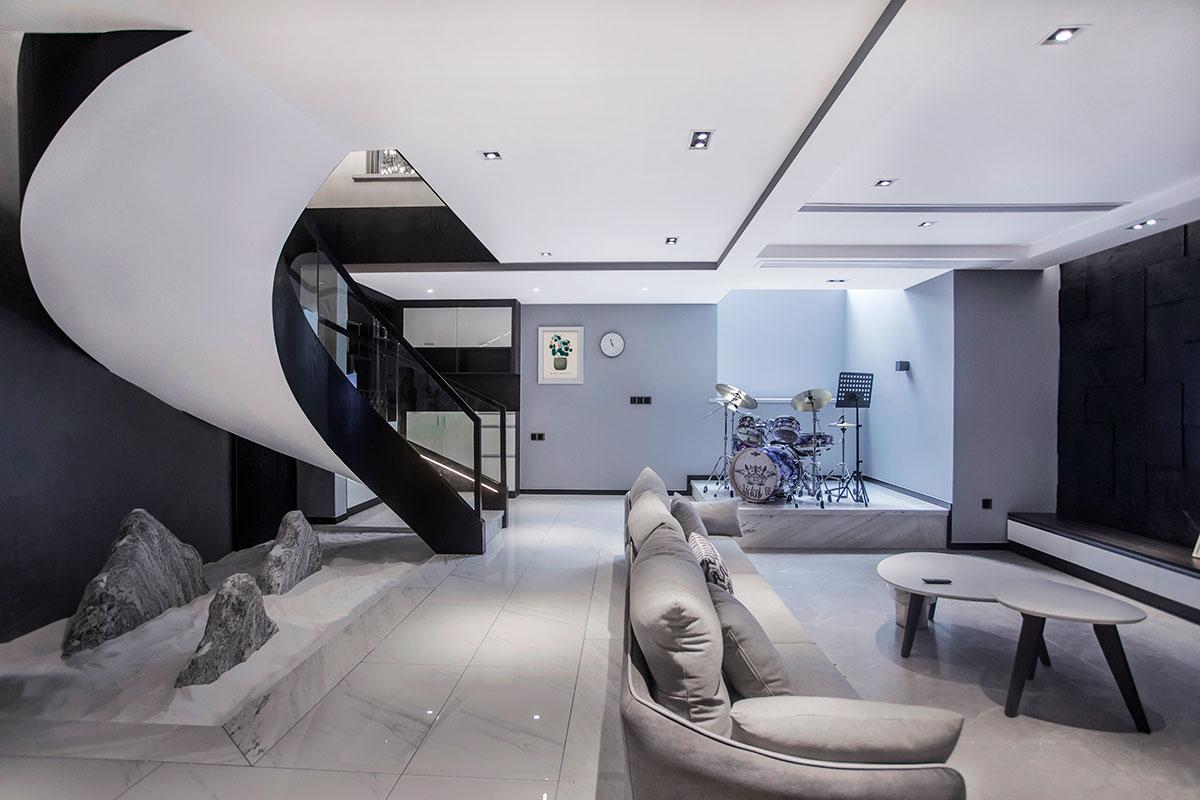 现代简约  城市之光   四室两厅  200平米