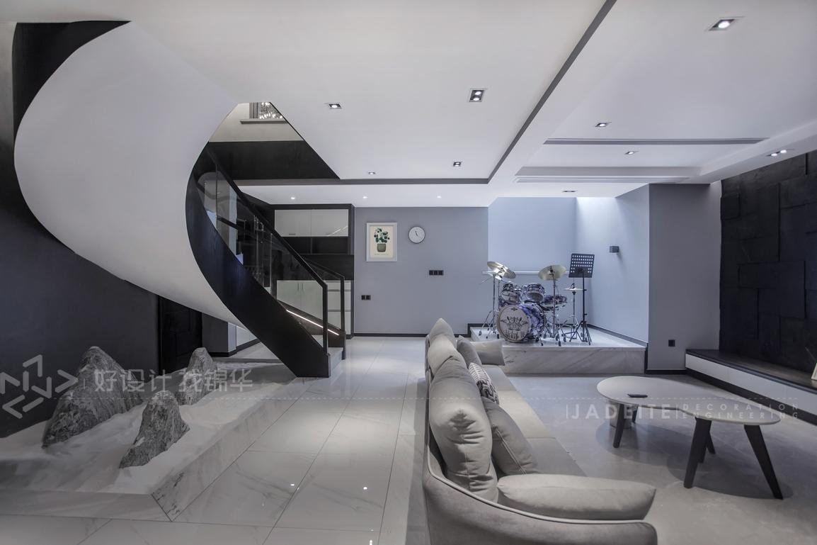 现代简约  城市之光   四室两厅  200平米装修-四室两厅-现代简约