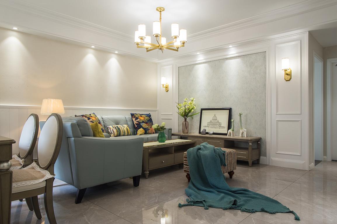 美式风格 文华名邸 三室一厅 115平米