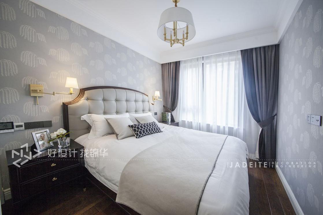 美式风格 星光耀 三室两厅 130平米装修-三室两厅-简美