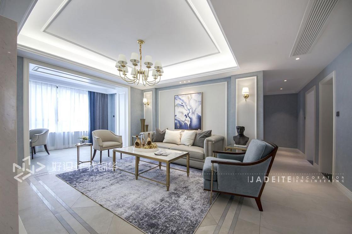 美式风格/星光耀/三室两厅/130平米