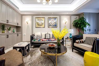 现代美式 星光耀 四室两厅 170平米