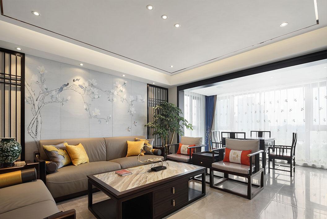 新中式 华强城 三室两厅 160平米