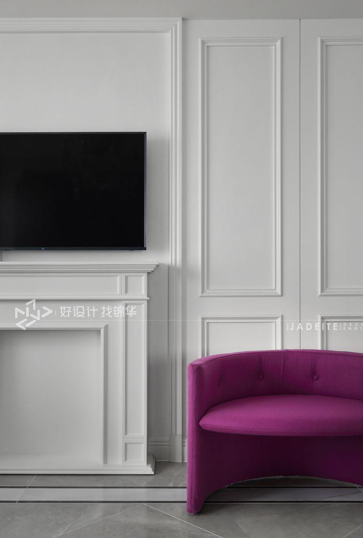 南通装修装潢公司/法式装修风格/客厅设计效果图