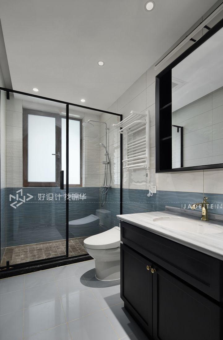 南通装修装潢公司/法式装修风格/卫生间设计效果图