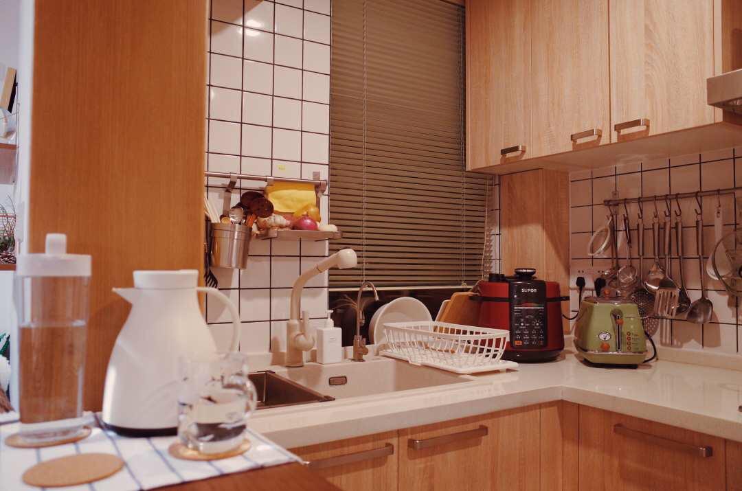 6 步厨房整理法条,家用整理术,来自规划整理师的厨房收纳经验!