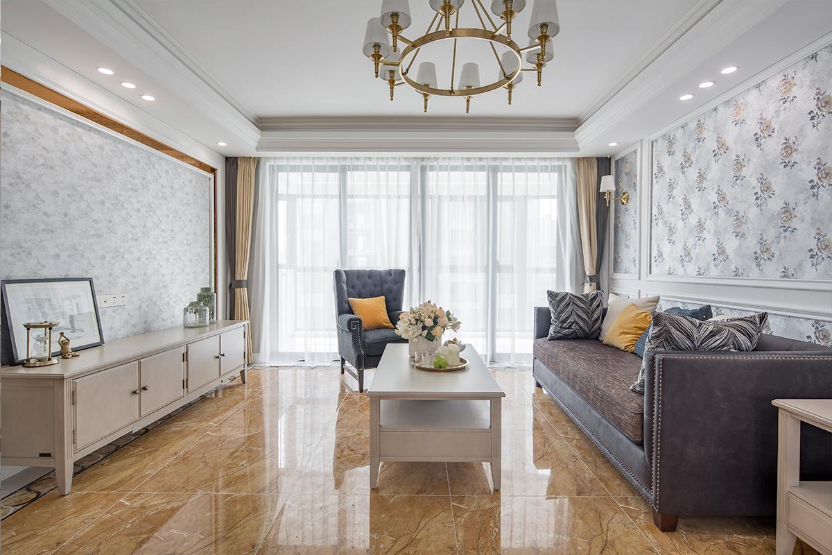 翡翠华府—144平米—美式风格实景装修案例
