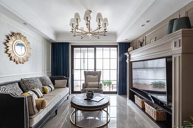 美式风格 华润悦锦湾 三室两厅 120平米