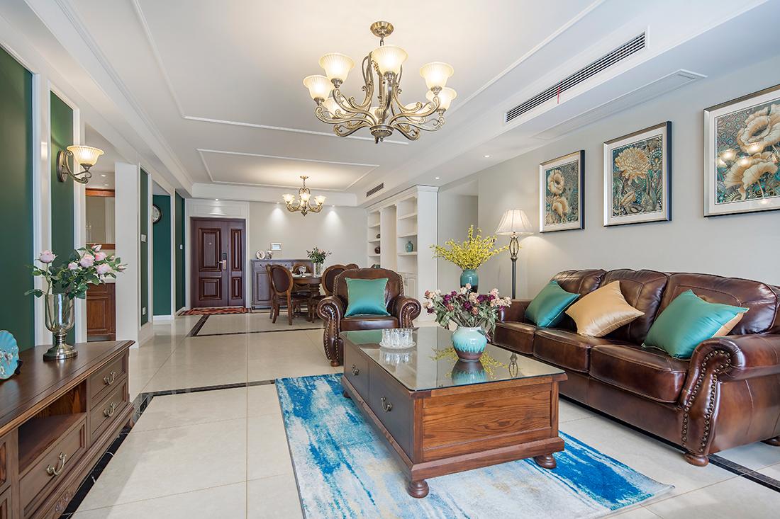 美式风格 华强城 四室两厅 170平米