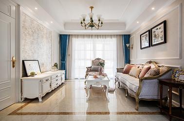 法式混搭风格 中南世纪花城 四室两厅 144平米