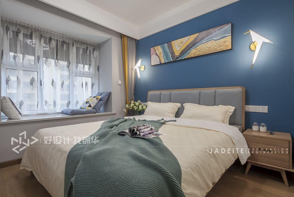 三室两厅装修/美式装修风格/主卧设计