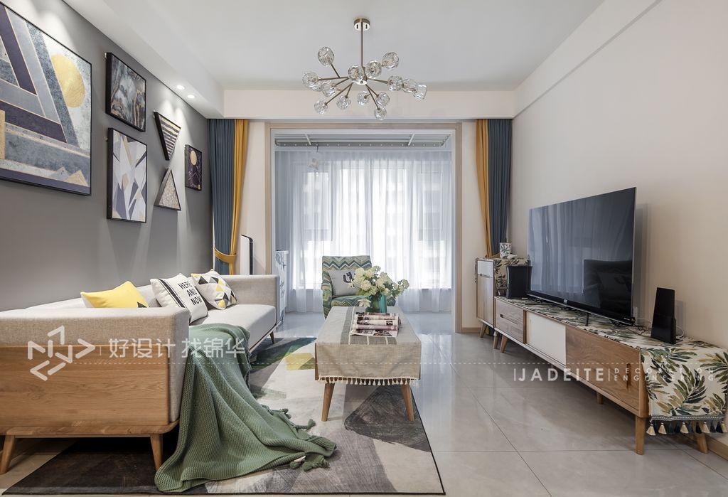 三室两厅装修/美式装修风格/室内软装设计