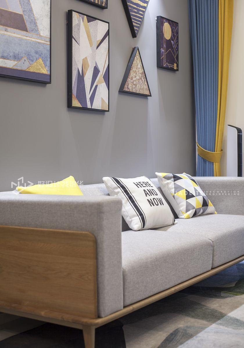 三室两厅装修/美式装修风格/南通装修公司