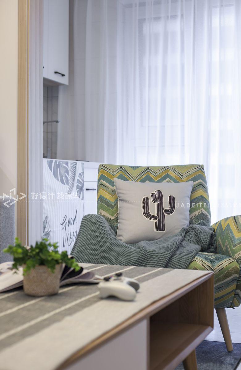 三室两厅装修/美式装修风格/软装软装设计