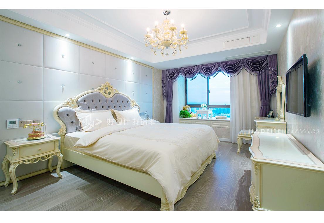 简欧风格 山景水岸 三室两厅146平米