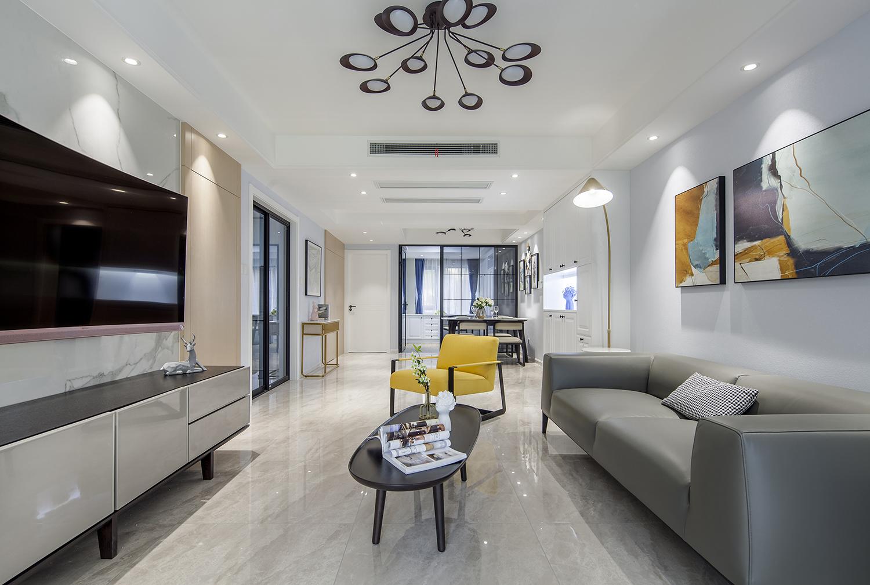 现代简约 悦海名邸 三室两厅 120平米