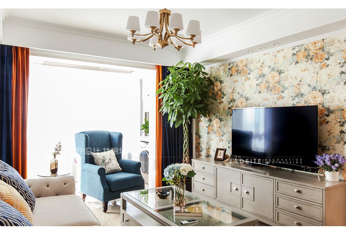 美式风格 星光域 三室两厅 96平米