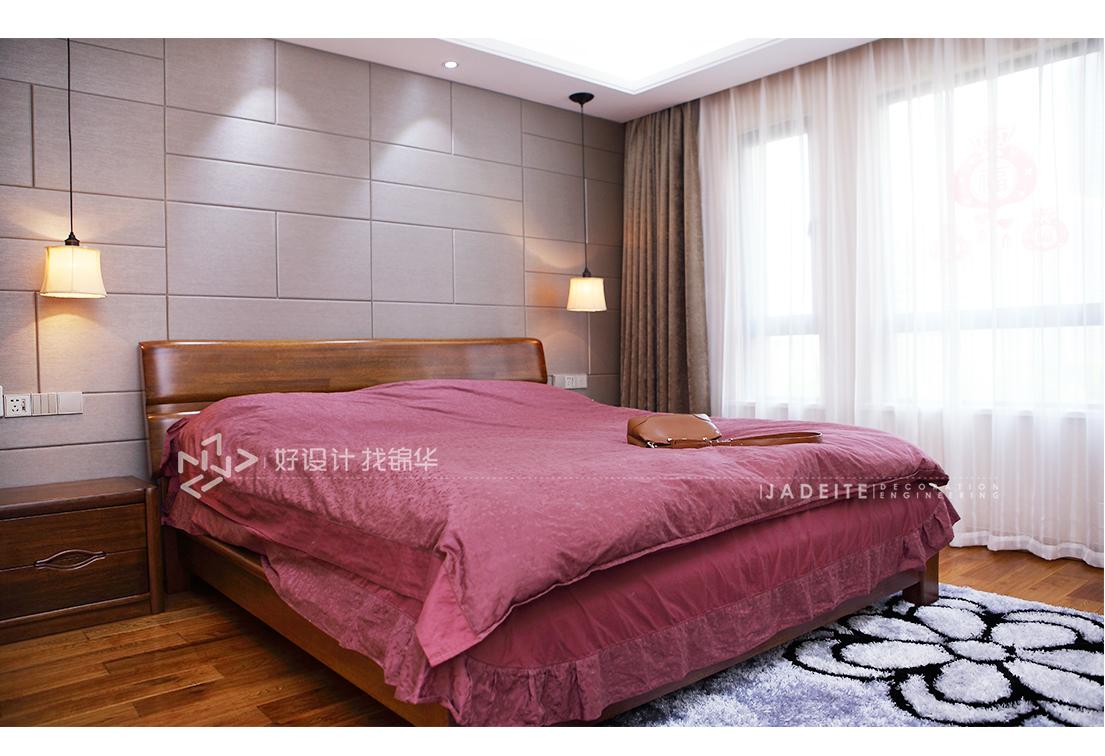 现代简约 华润悦景湾 三室两厅 108平米