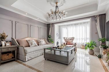美式风格 中南世纪花城 四室两厅 166平米